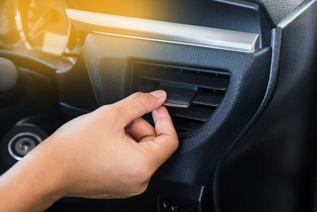 control car air conditioning system