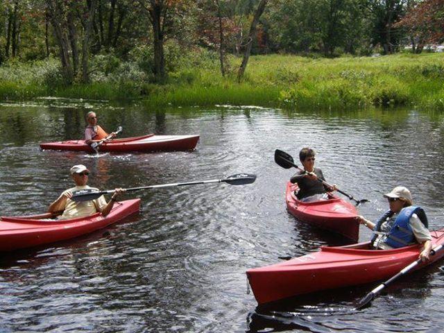 Vermont kayak trip