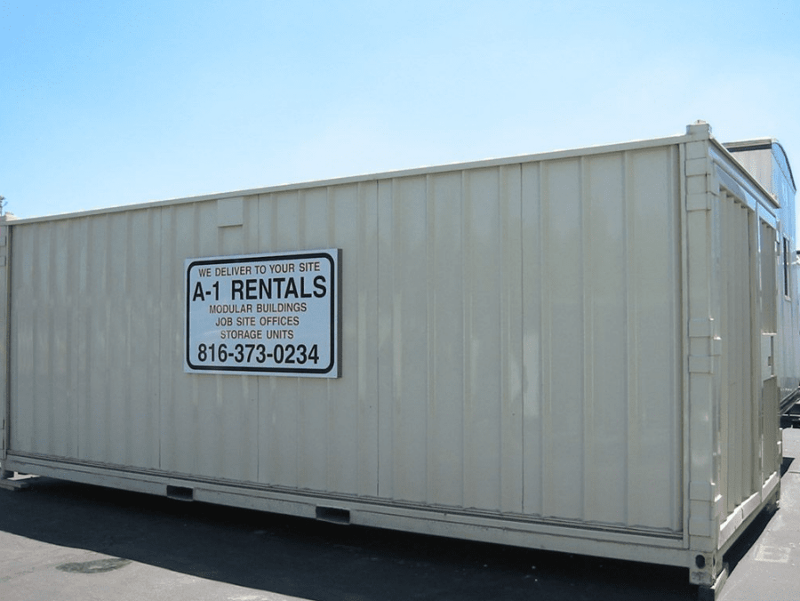 8u0027 x 40u0027 double door storage container & Storage Container Applications | Kansas City MO | A -1 Rentals
