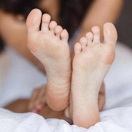 feet after treatment