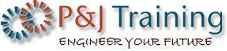 P and J Training Engineer your future logo