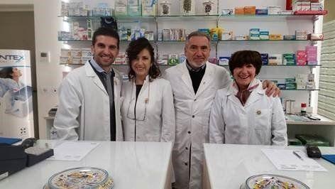 vista dei servizi offerti dalla farmacia