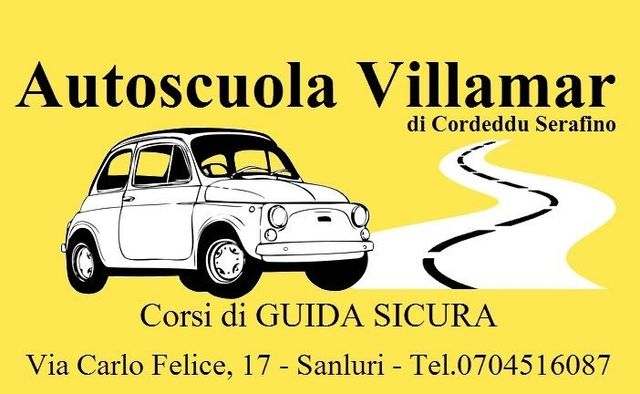 AUTOSCUOLA VILLAMAR logo