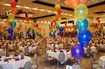 Birthday Balloons Party With Many Chairs And In Seminole FL