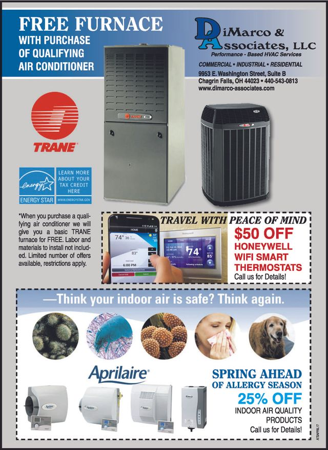 A/C Repair Cleveland, OH New Furnace Installation Cleveland OH