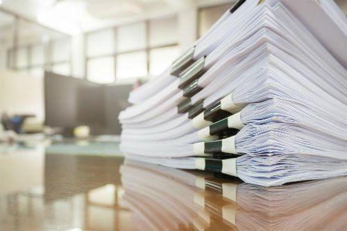 Documenti impilati