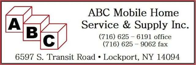 Mobile Home Repairs | Lockport, NY | ABC Mobile Home Service ... on mobile funeral services, mobile coffee, mobile hair salon, mobile web design, providence home services,