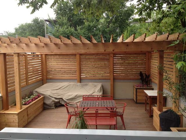 view all - Cityscape Landscape - Chicago, IL - Pergola & Deck Designs