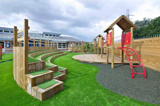 School Playground Design and Installation