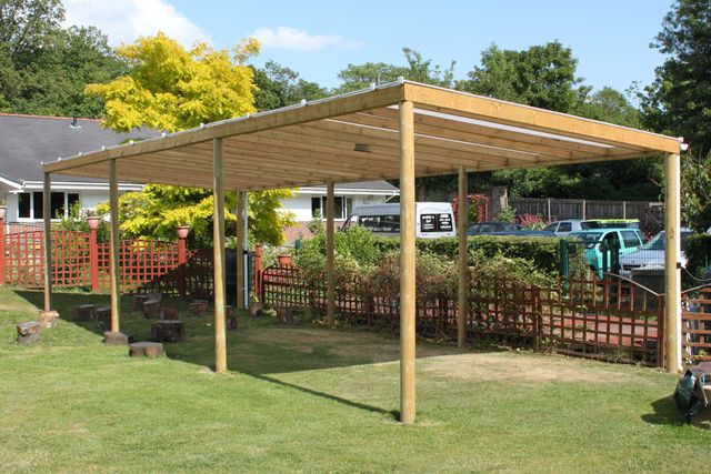 Freestanding Canopies & Playground canopy design in Kent u0026 South East London