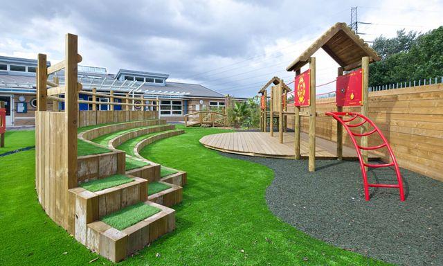 School Playground Bespoke Design & Installation | London & South East