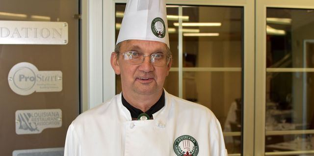 Chef George Michael Dunn Chef Instructor at Louisiana Culinary Institute