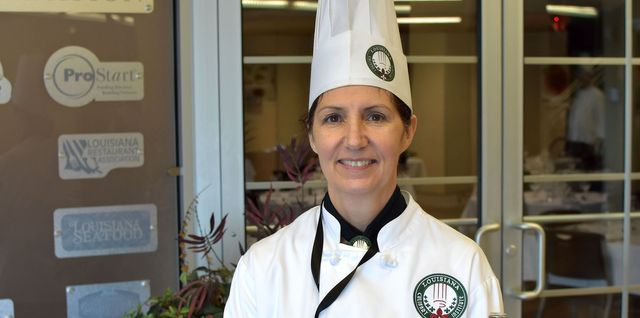 Chef Christina Nicosia Lead Pastry Instructor at Louisiana Culinary Institute