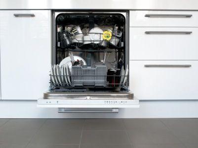Dishwasher after repair