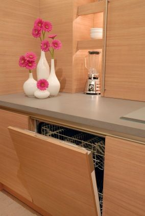 Appliance in the modular kitchen