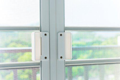 Recinzione di porta di PVC