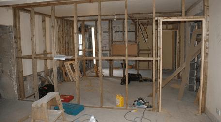 Renovation repairs