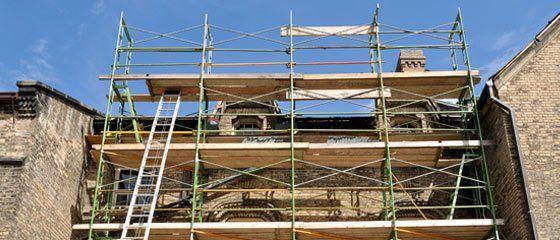 re-plastering ceilings