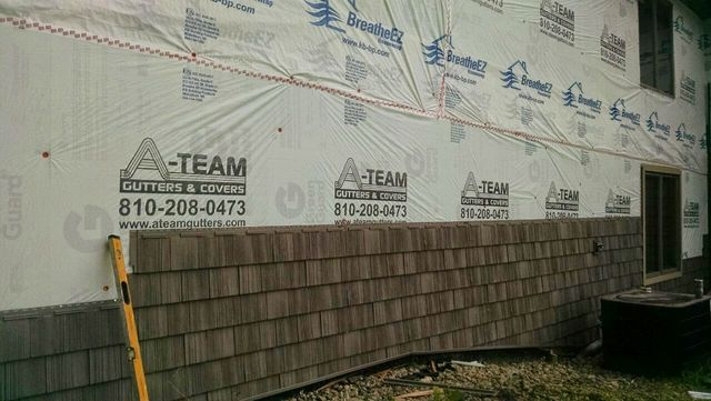 Siding and Trim Installation