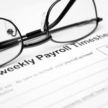 compliant payroll processing sheet