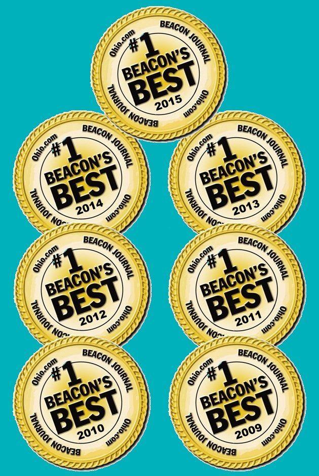 Akron beacon Journal Beacon's Best Dentist 7 Years Straight