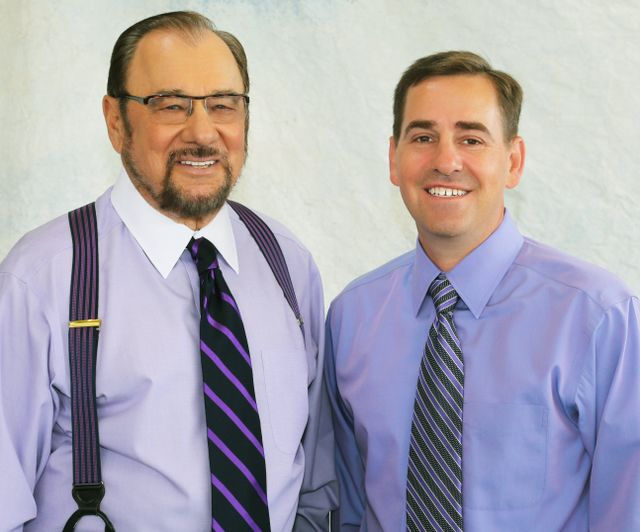 Dentist Dr. James George and Dr. Mark Grucella
