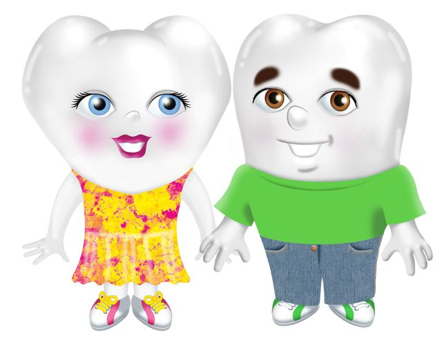 Dental Fun with Bart and Molly