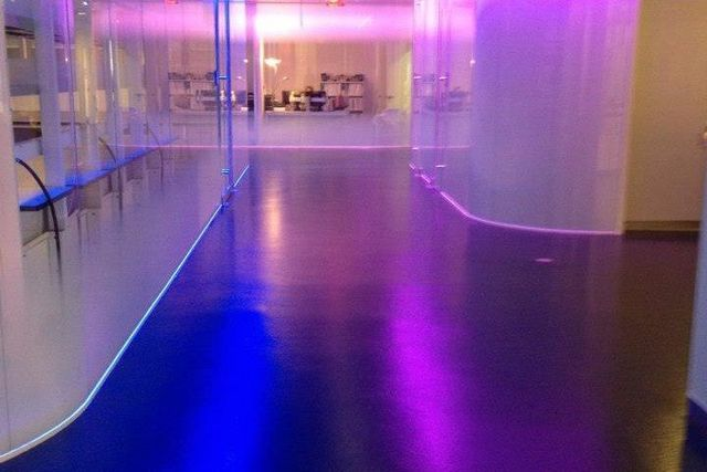 resinous flooring installation in Buffalo, NY