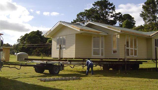 House relocation underway in Putaruru