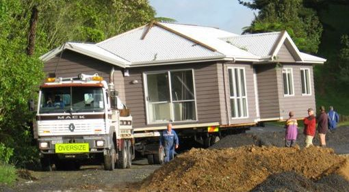Home removal by truck in Putaruru