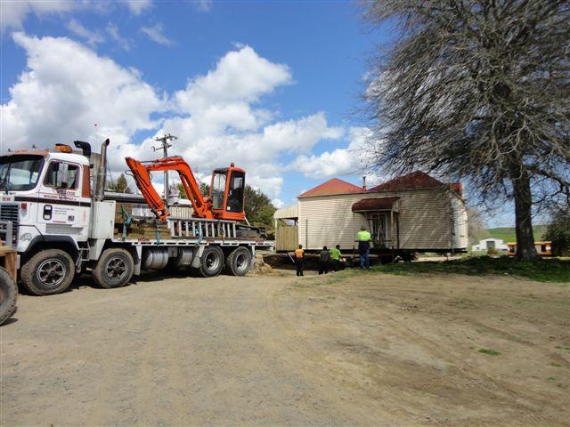 House removal underway in Putaruru