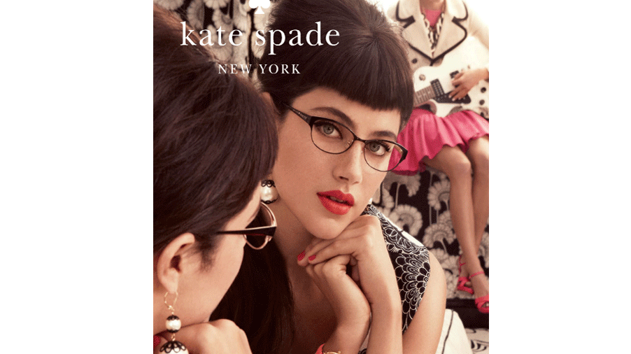 152f7b5f65 Kate Spade eyeglasses are flirty and feminine. Flattering shapes like  classic cat-eyes or modern rectangles can be found in metal or plastic