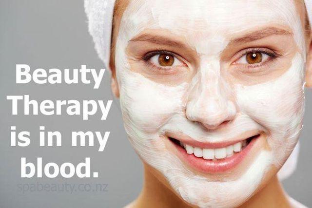 Woman providing beauty treatment