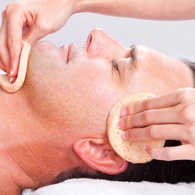 men's beauty treatments