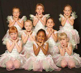 kids wearing dance costumes