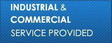 Industrial and commercial service provided