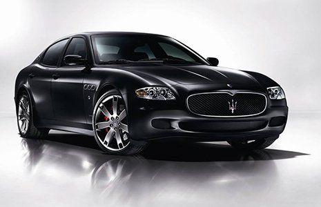 Maserati nera