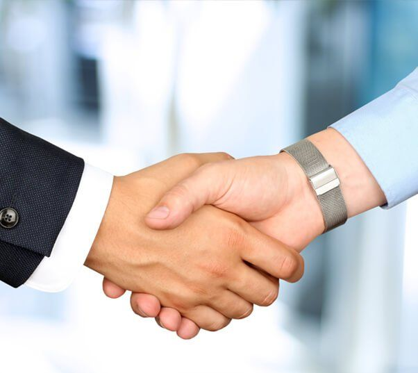 handshake at end of will writing home visit