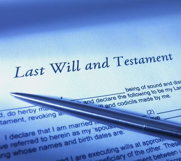 blank last will and testament