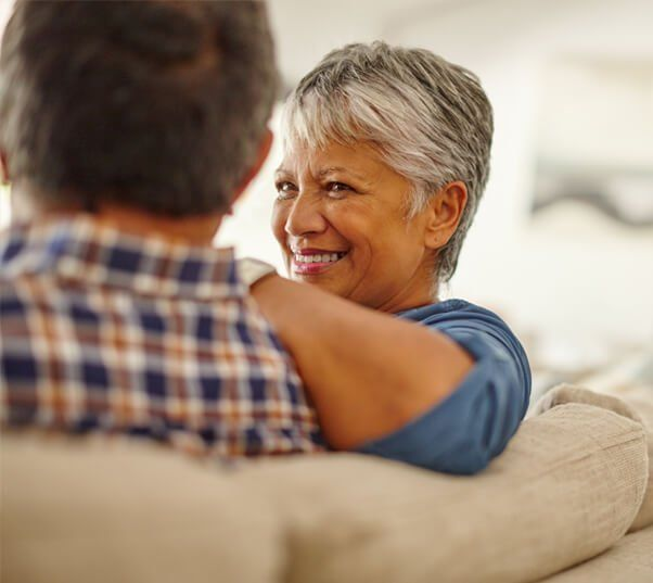 late middle aged couple established as tenants in common