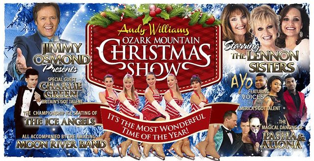 slide title the andy williams ozark mountain christmas show - Andy Williams Christmas Show