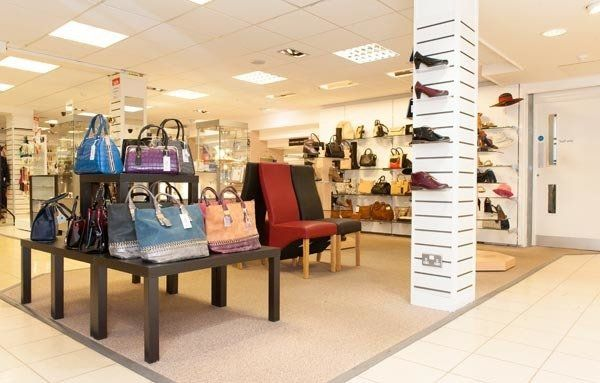 Ladies handbags and leather goods at our department store in Spalding