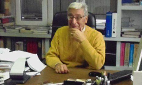 Giovanni Vanoli in ufficio
