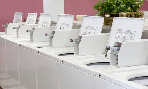 Our coin operated washers and dryers in Lincoln