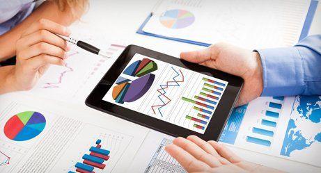 Organising financial data
