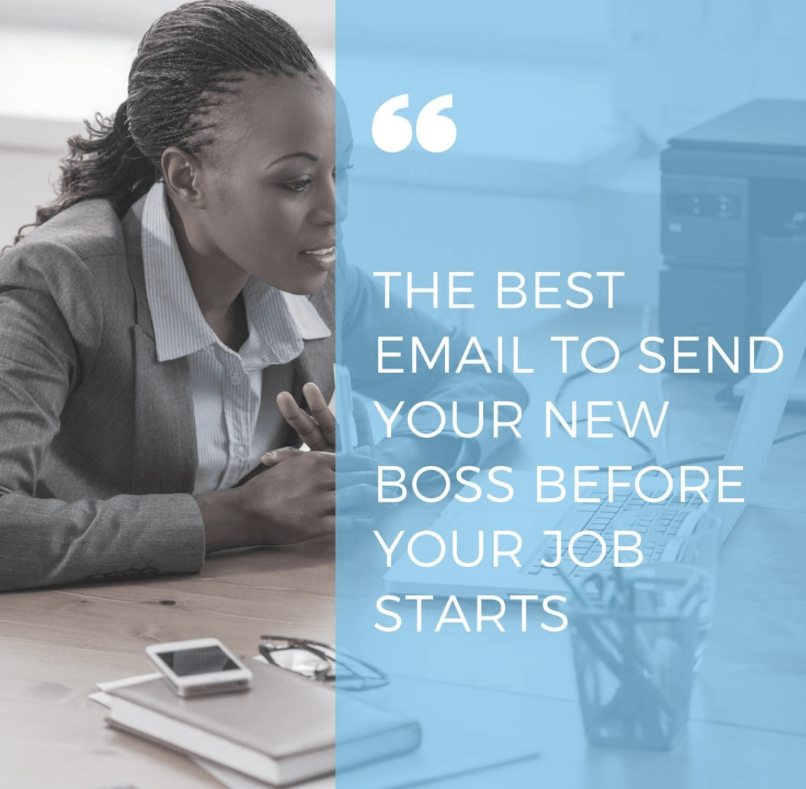 The Best Email to Send Your New Boss Before Your Job Starts