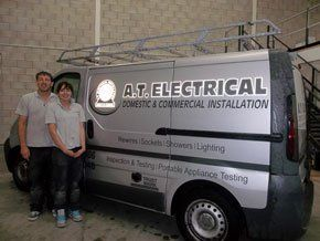 Electrical contractors  - Manchester  - A T Electrical Installations