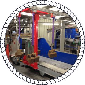 lifting equipment in factory