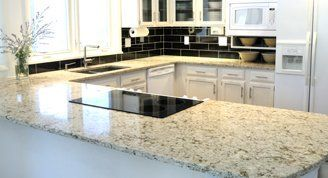 modern kitchen counter tops