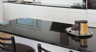 easy to clean kitchen worktops